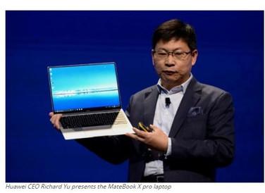 Huawei, Samsung launch new gadgets