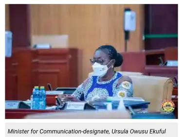 Ghana far from activating 5G network - Ursula Owusu-Ekuful