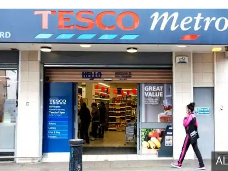 Tesco apologises after online issues amid Christmas rush