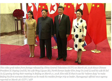 North Korea's Kim met China's Xi on first foreign trip