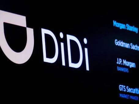 Didi: China ride-hailing giant halts plan to launch in UK