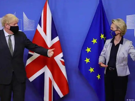 Brexit: Euro MPs' vote bolsters EU-UK trade deal