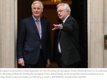 EU negotiator warns 'not a minute to lose' in Brexit talks