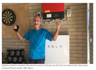 Tesla turns 50,000 Aussie homes into solar power generators