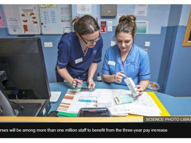 NHS pay: Unions agree deal for 1.3 million staff