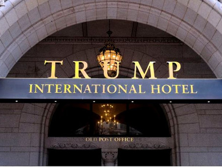 Trump hotel lost $96 million during presidency, got help from bank