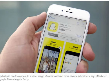 Snapchat's UK ad revenue set to overtake Twitter's next year