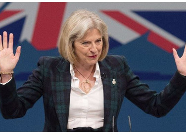 Theresa May fights to keep UK in EU satellite project