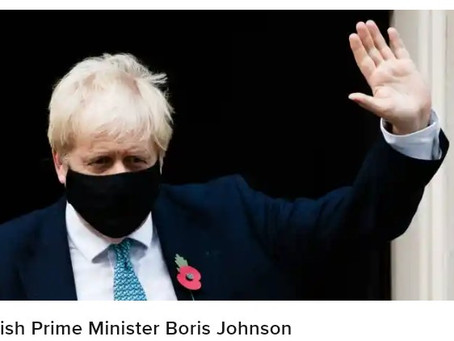 Britain's Johnson in isolation after contact with infected lawmaker