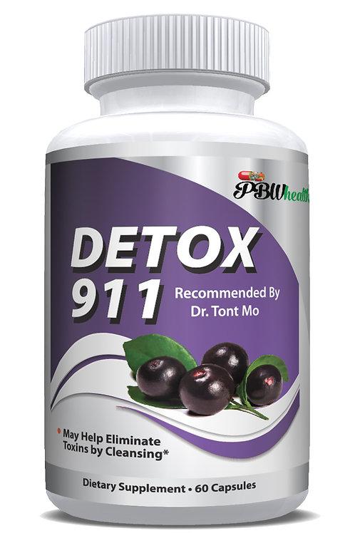 Detox 911 by Dr Tont Mo