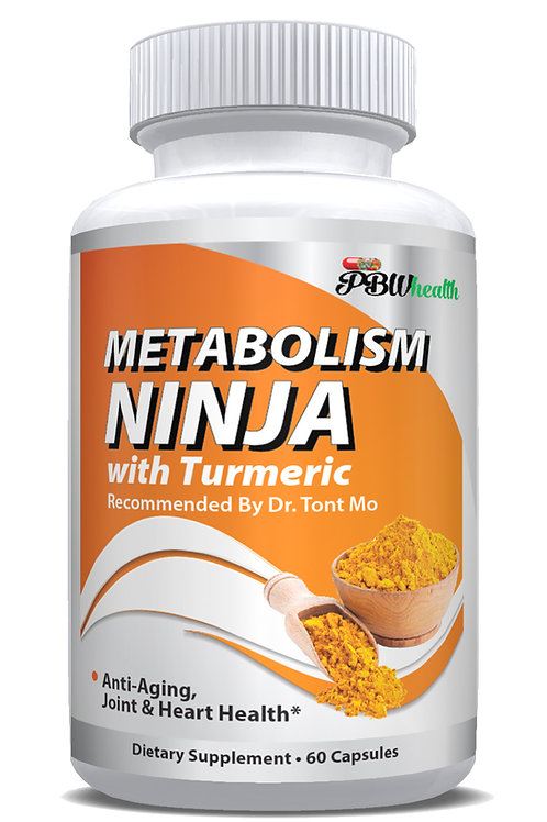 Metabolism Ninja by Dr. Tont Mo