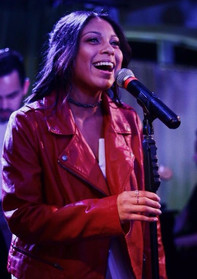 Singing at Rockwell Table and Stage