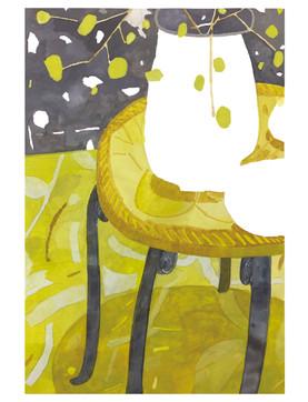 レモン色の部屋
