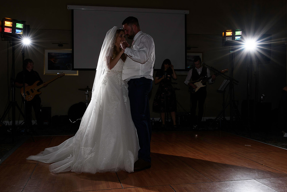 1st Dance - Wedding photography Bridgend