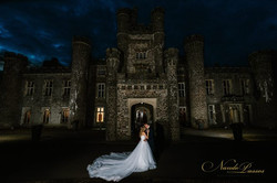 Night photo at Hensol Castle