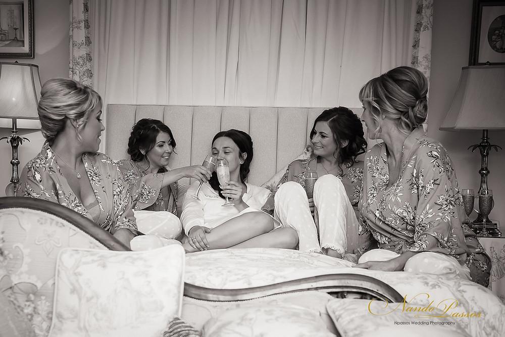BRIDE AND BRIDESMAID'S PREPARATION