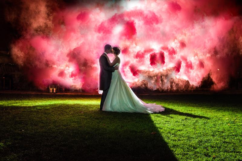 Creative wedding photos - Sparklers