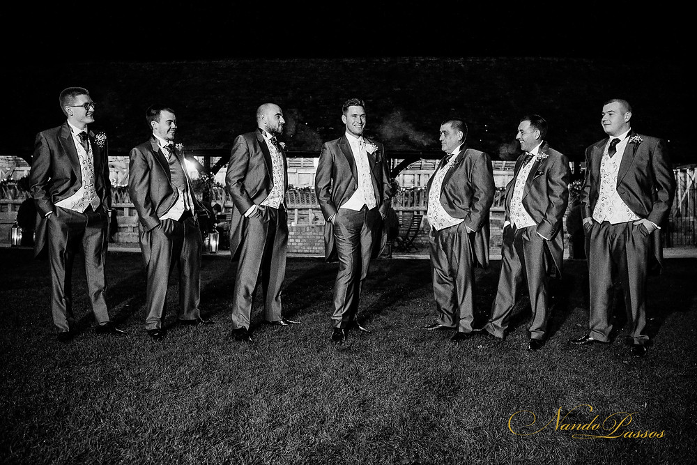 AFTER DARK GROOM AND USHERS