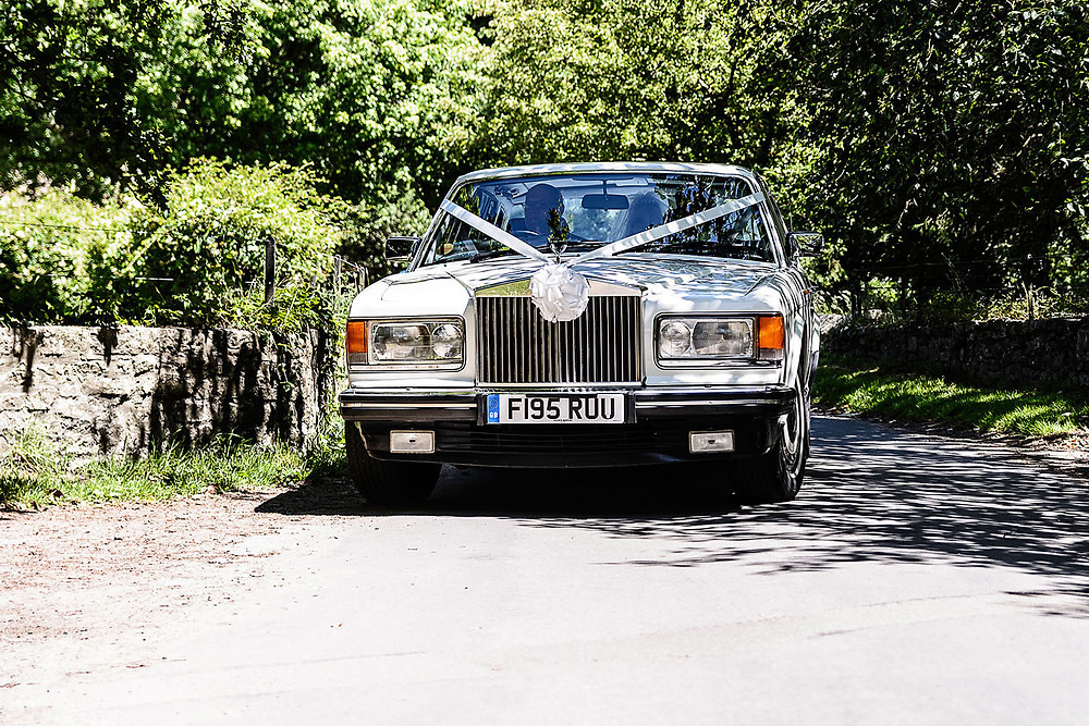 Wedding car - Wedding Photography in Bridgend