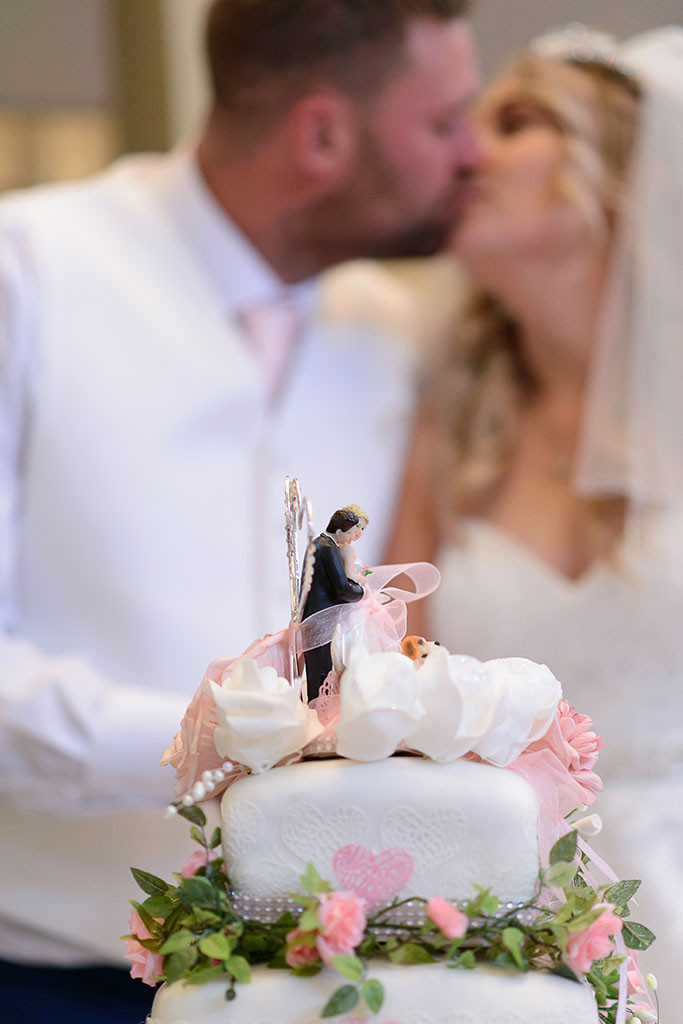 Wedding cake - Wedding photography Bridgend