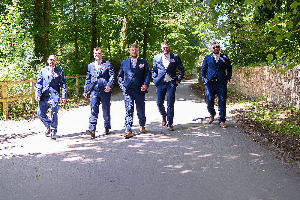 groomsman - Wedding Photography in Bridgend