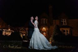Scottish wedding at Bryngarw House