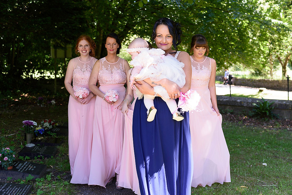 Bridesmaids - Wedding Photography in Bridgend