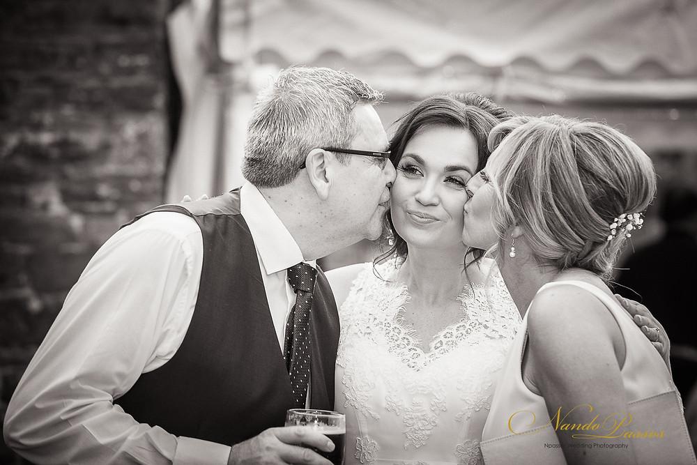 BRIDE AND PARENTES