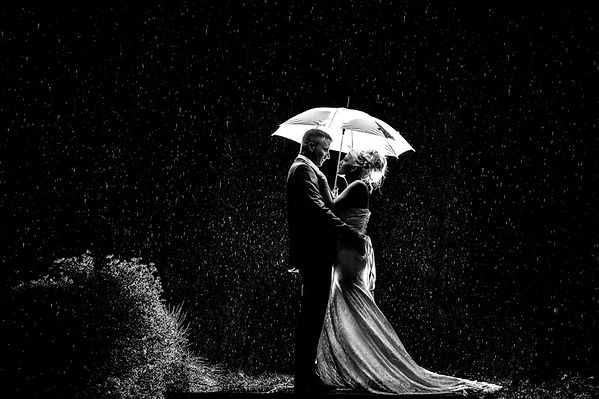 Winter wedding in South Wales