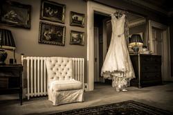 wedding dress photo, South Wales