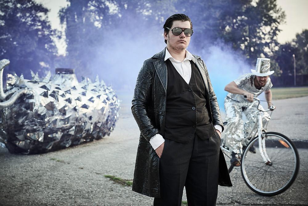 Matěj Šíma v roli pana Broučka (foto: Zeno Václavík)