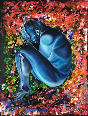 Blue boy by Joel Chalen