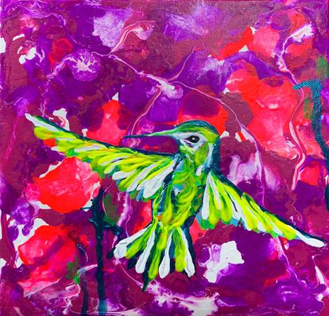 Hummingbird 3 by Joel Chalen