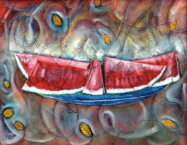 Watermelon, 2004 by Joel Chalen