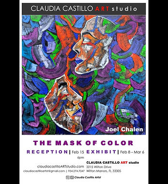 The Mask of Color by Joel Chalen