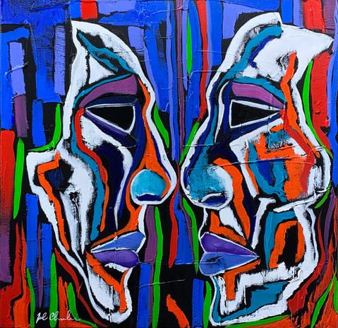 Shared Pain, 2020 by Joel Chalen