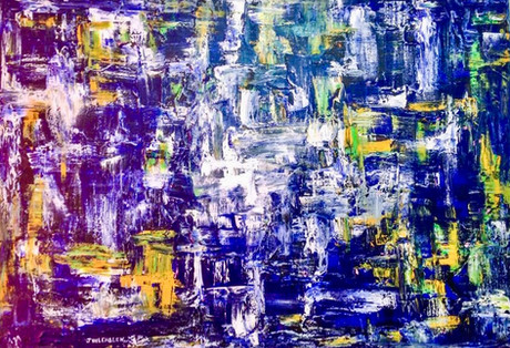 Blue Sky, 2015 by Joel Chalen