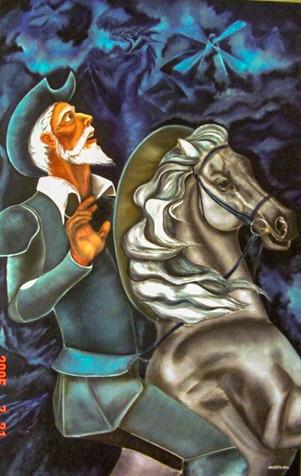 Brave man 1, 2004 by Joel Chalen