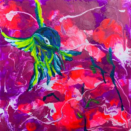 Hummingbird 2 by Joel Chalen