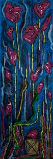 Rain of roses by Joel Chalen