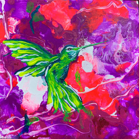 Hummingbird 1 by Joel Chalen