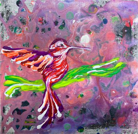 Hummingbird 6 by Joel Chalen