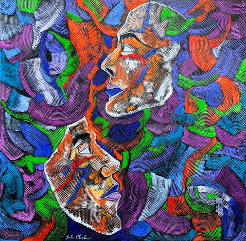 Same tears, differing reality by Joel Chalen