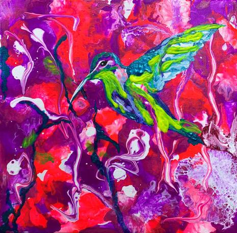 Hummingbird 4 by Joel Chalen