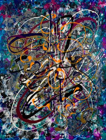Guitar Butterfly by Joel Chalen