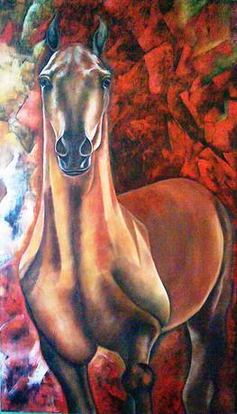 Red Horse, 2006 by Joel Chalen