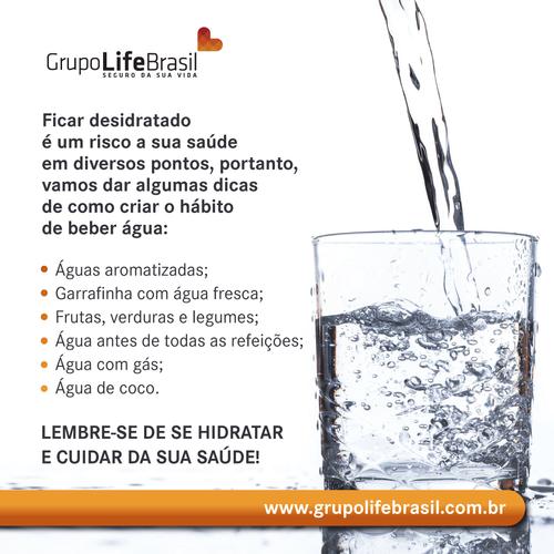 benefícios de se tomar água