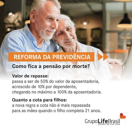 1. Reforma da Previdencia como fica a pensão por morte?
