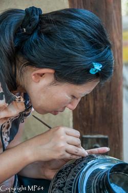 Bagan - Travail sur Laque