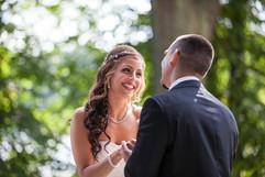 Bröllopsfotografering, Brudtärnor, Bröllop, Brudklänning, Brudbuket